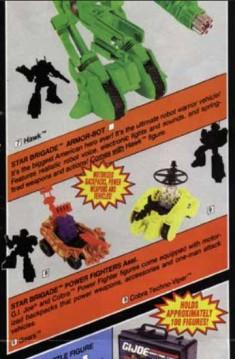 1993 GI Joe Product Catalog - Surveillance Port