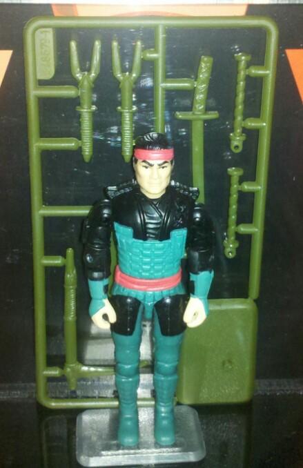 1995 GI Joe Ninja Commando Budo Forgotten Figures - Surveillance Port