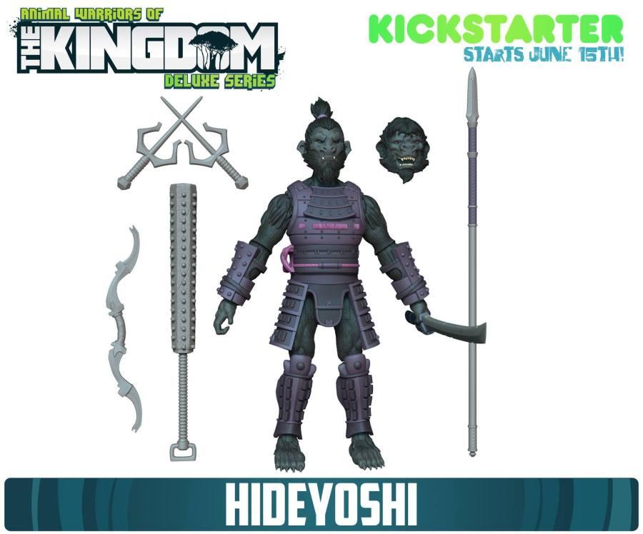 Animal Warriors of hte Kingdom Hideyoshi