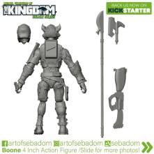 Animal Warriors of the Kingdom Boone 3D Sculpt - Surveillance Port (5)