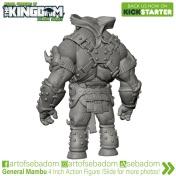 Animal Warriors of the Kingdom Deluxe Series Kickstarter Campaign General Mambu - Surveillance Port (2)