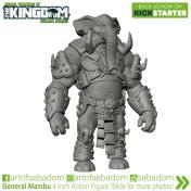 Animal Warriors of the Kingdom Deluxe Series Kickstarter Campaign General Mambu - Surveillance Port (3)