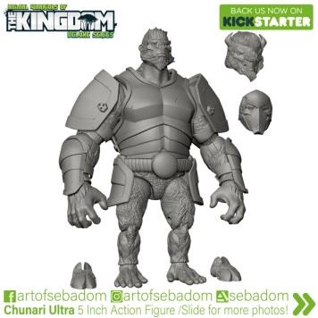 Animal Warriors of the Kingdom Deluxe Series Kickstarter Campaign Thane - Surveillance Port (1)