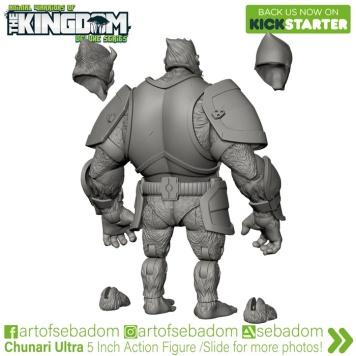 Animal Warriors of the Kingdom Deluxe Series Kickstarter Campaign Thane - Surveillance Port (2)