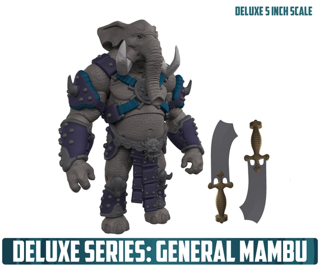 Animal Warriors of the Kingdom General Mambu Color Reveal - Surveillance Port