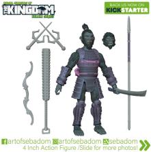 Animal Warriors of the Kingdom Hideyoshi 3D Sculpt Turnaround - Surveillance Port (01)