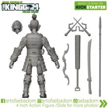 Animal Warriors of the Kingdom Hideyoshi 3D Sculpt Turnaround - Surveillance Port (02)