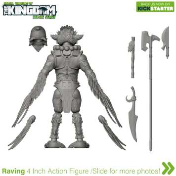 Animal Warriors of the Kingdom Raving 3D Turnaround 03 - Surveillance Port