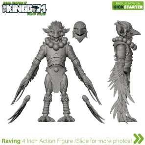 Animal Warriors of the Kingdom Raving 3D Turnaround 04 - Surveillance Port