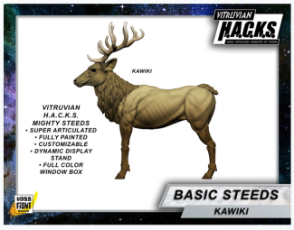 Boss Fight Studio Vitruvian H.A.C.K.S. Mighty Steeds Kawiki Unlock - Surveillance Port