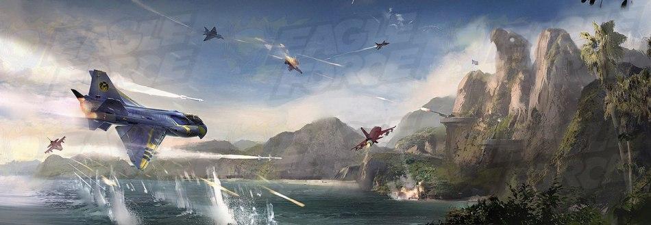 Eagle Force Returns Banner - Surveillance Port