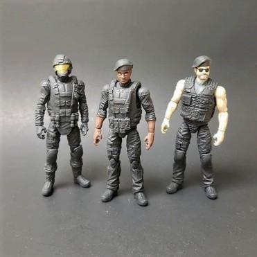 Eagle Force Returns General Brown Zapper EF Trooper Paint Master - Surveillance Port