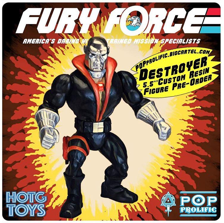 Fury Force Destroyer - Surveillance Port