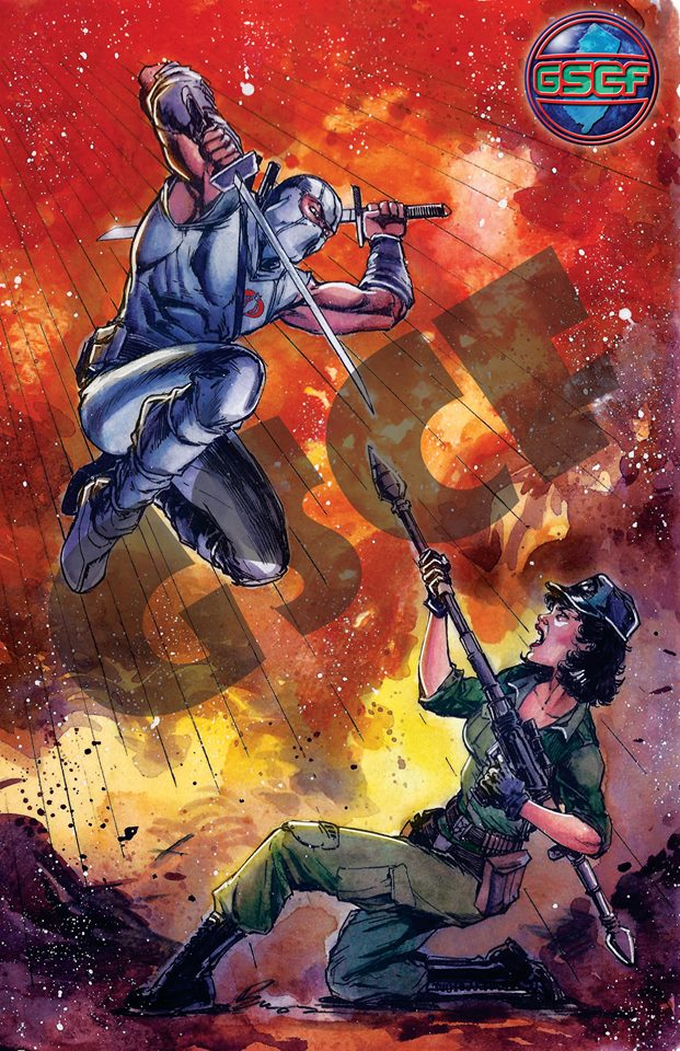 GSCF VIP Exclusive Lady Jaye vs Storm Shadow Print - Surveillance Port