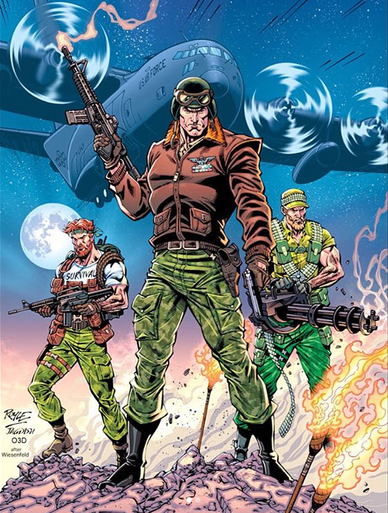 IDW Publishing GI Joe ARAH 257 John Royle 01 - Surveillance Port