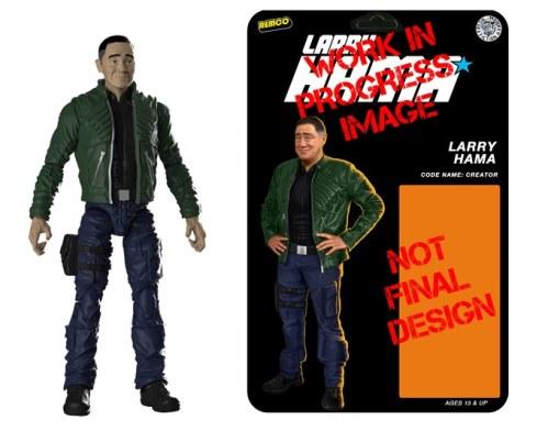 Larry Hama Action Figure - Surveillance Port