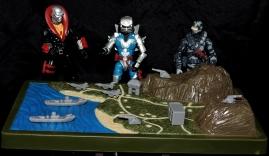 Marauder Gun-Runners Contoured Terrain Battle Map - Surveillance Port (01)
