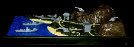 Marauder Gun-Runners Contoured Terrain Battle Map - Surveillance Port (03)