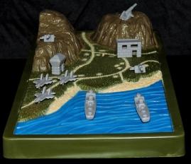 Marauder Gun-Runners Contoured Terrain Battle Map - Surveillance Port (04)