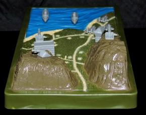 Marauder Gun-Runners Contoured Terrain Battle Map - Surveillance Port (06)