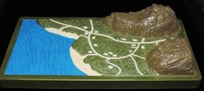 Marauder Gun-Runners Contoured Terrain Battle Map - Surveillance Port (07)