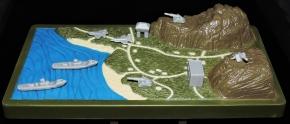 Marauder Gun-Runners Contoured Terrain Battle Map - Surveillance Port (08)