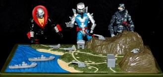 Marauder Gun-Runners Contoured Terrain Battle Map - Surveillance Port (09)