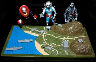 Marauder Gun-Runners Contoured Terrain Battle Map - Surveillance Port (10)