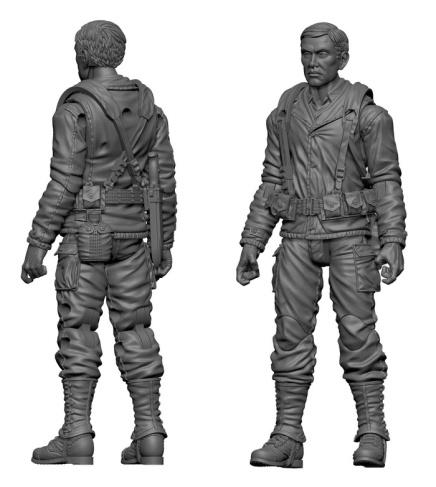MTF WWII Japanese American US Army Rifleman - Surveillance Port
