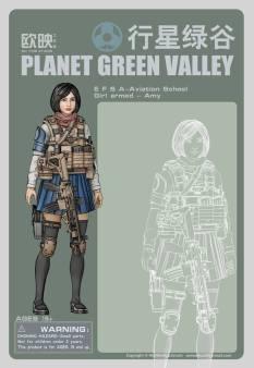 Planet Green Valley Card Art Test - Surveillance Port 03