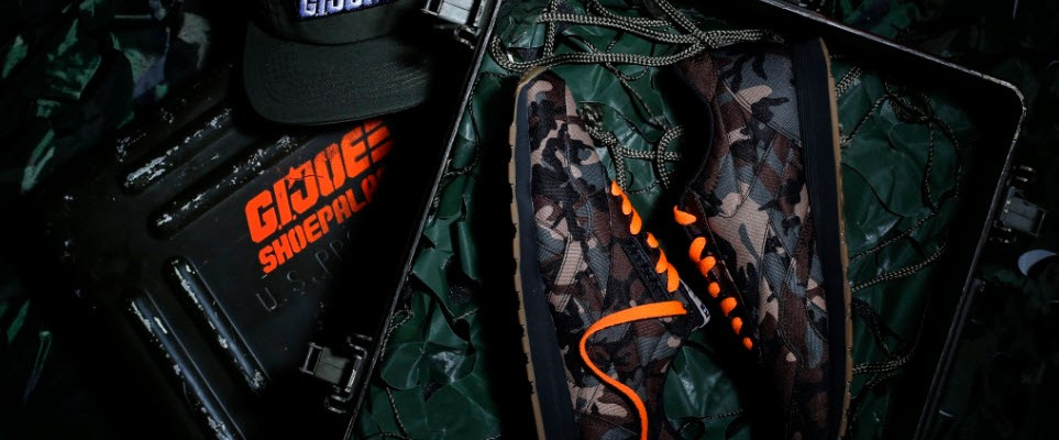 22bf36ba9cd Shoe Palace x Reebok G.I.Joe 25th Anniversary Sneakers Revealed ...