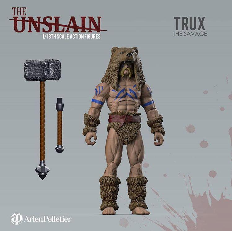 The Unslain Trux The Savage Arlen Pelletier - Surveillance Port