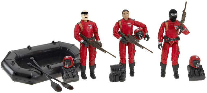 Unproduced G.I.Joe Infiltrate Cobra Island 3 Pack - Surveillance Port