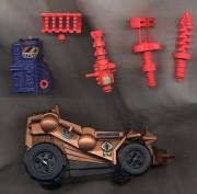 Unproduced GI Joe Power Fighter Vehicles Forgotten Figures 03 - Surveillance Port