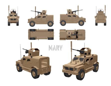 Wayward Goat Collectibles MARV 01 - Surveillance Port