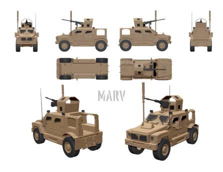 Wayward Goat Collectibles MARV 02 - Surveillance Port