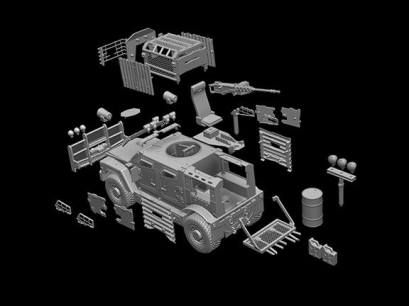 Wayward Goat Collectibles MARV Zombie Hunter Add-On Kit - Surveillance Port (5)