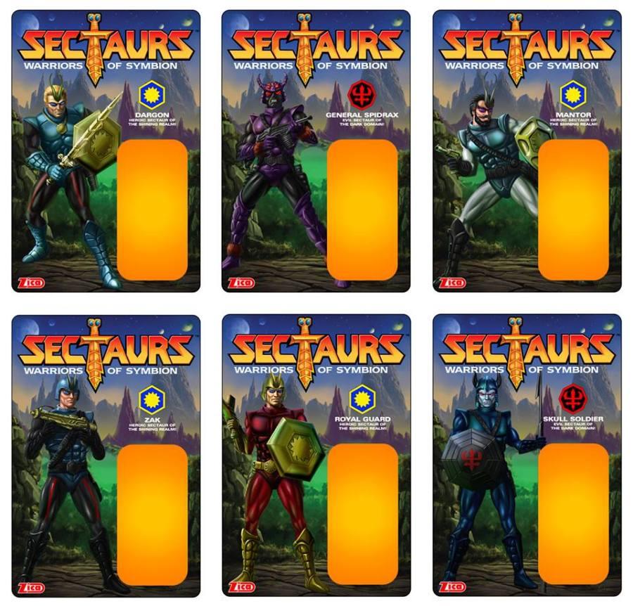 Zica Toys Sectaurs Cardbacks - Surveillance Port