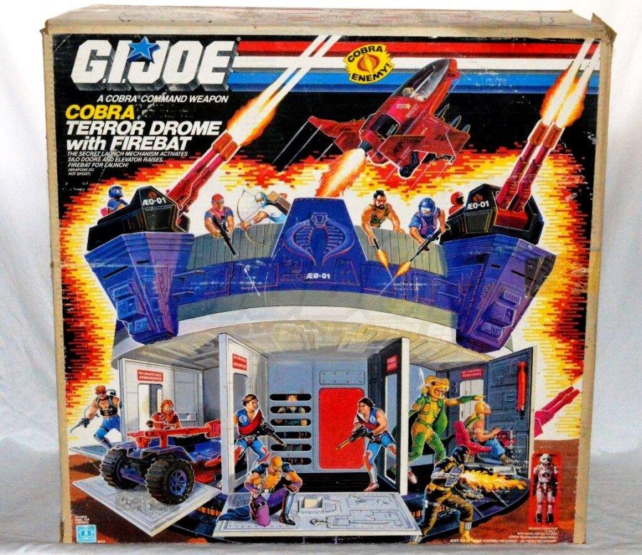 1986 G.I.Joe Cobra Terror Drome Big Boy Collectibles - Surveillance Port