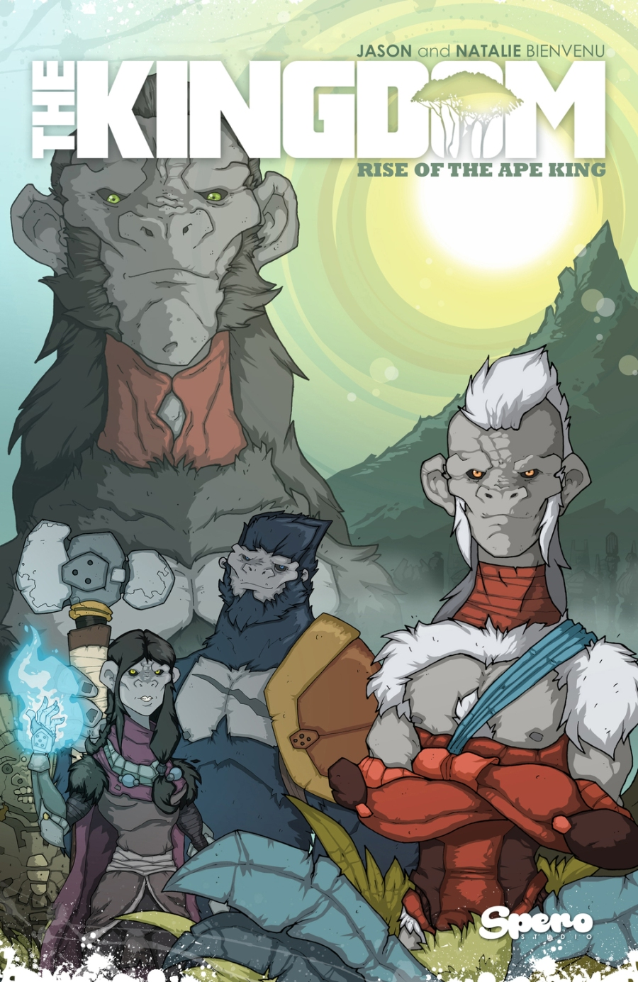 Animal Warriors of the Kingdom TPB Cover - Surveillance Port