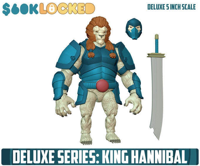 AWOK Deluxe Series King Hannibal - Surveillance port