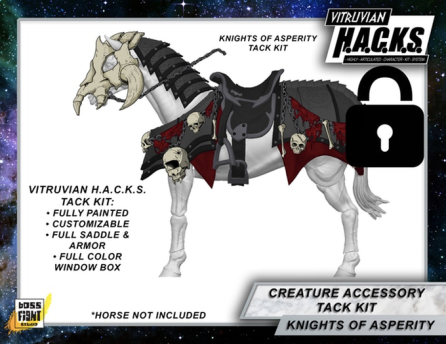 Boss Fight Studio Virtuvian H.A.C.K.S. Mighty Steeds Knights of Asperity Tack Kit - Surveillance Port