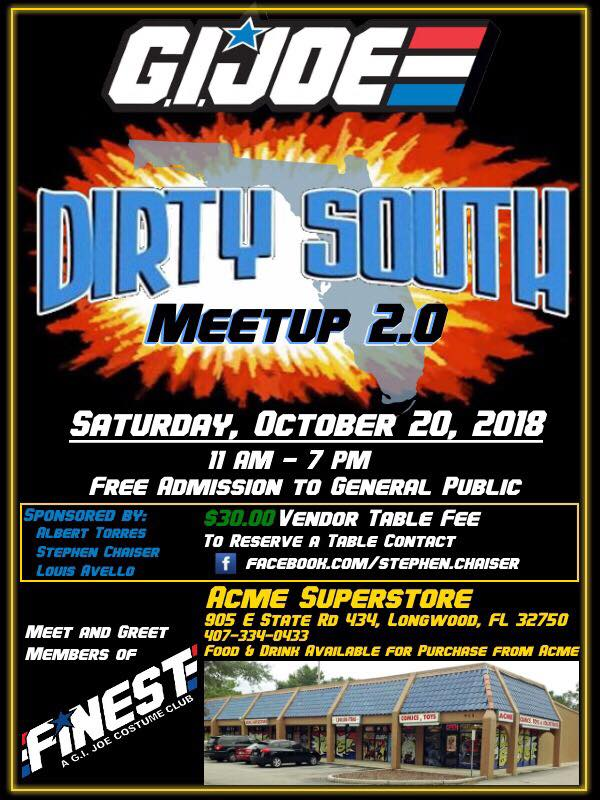 Dirty South Meetup 2 Banner - Surveillance Port