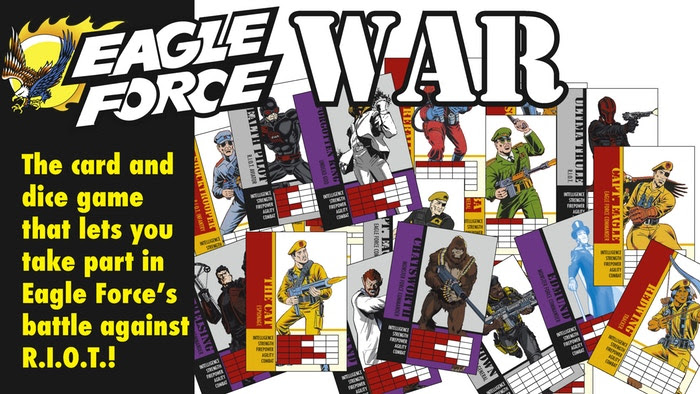 Eagle Force War Banner - Surveillance port