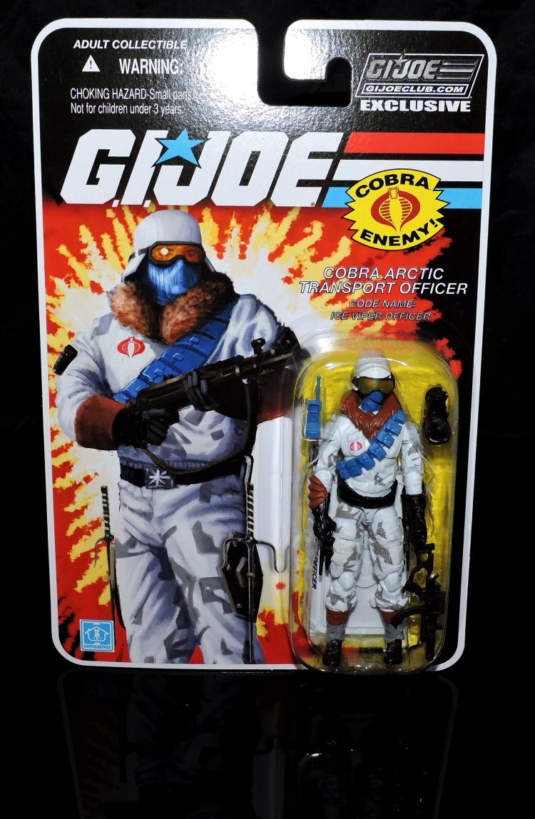 G.I.Joe Collectors Club FSS 7 Cobra Ice Viper Officer - Surveillance Port (1)