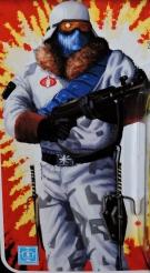 G.I.Joe Collectors Club FSS 7 Cobra Ice Viper Officer - Surveillance Port (2)