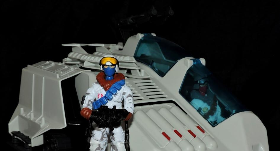 G.I.Joe Collectors Club FSS 7 Cobra Ice Viper Officer - Surveillance Port (38.5)