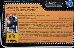 G.I.Joe Collectors Club FSS 7 Cobra Ice Viper Officer - Surveillance Port (5)