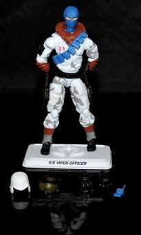 G.I.Joe Collectors Club FSS 7 Cobra Ice Viper Officer - Surveillance Port (9)