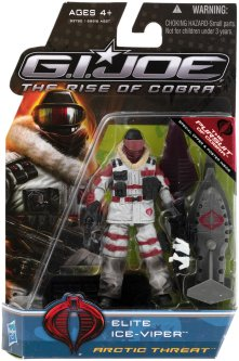 G.I.Joe Rise of Cobra Arctic Threat Elite Ice-Viper - Surveillance Port (1)